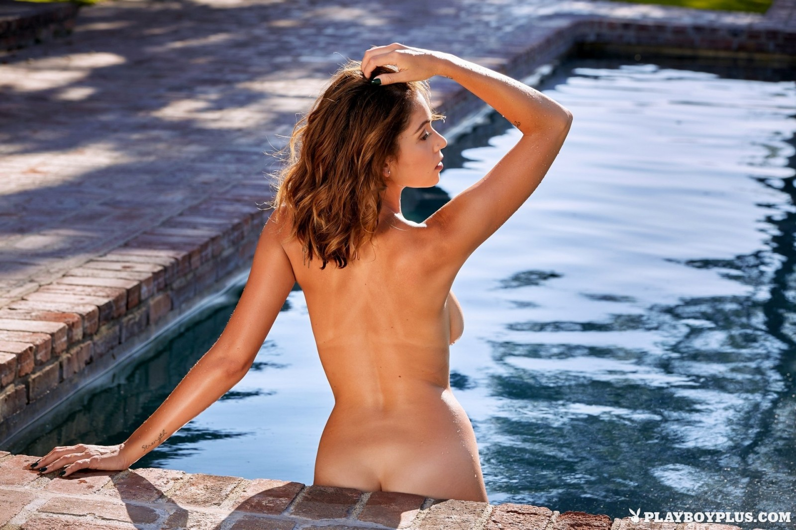 Ali Rose in Busty Latina MILF by the pool - Playboy Plus - Pure Nude ...