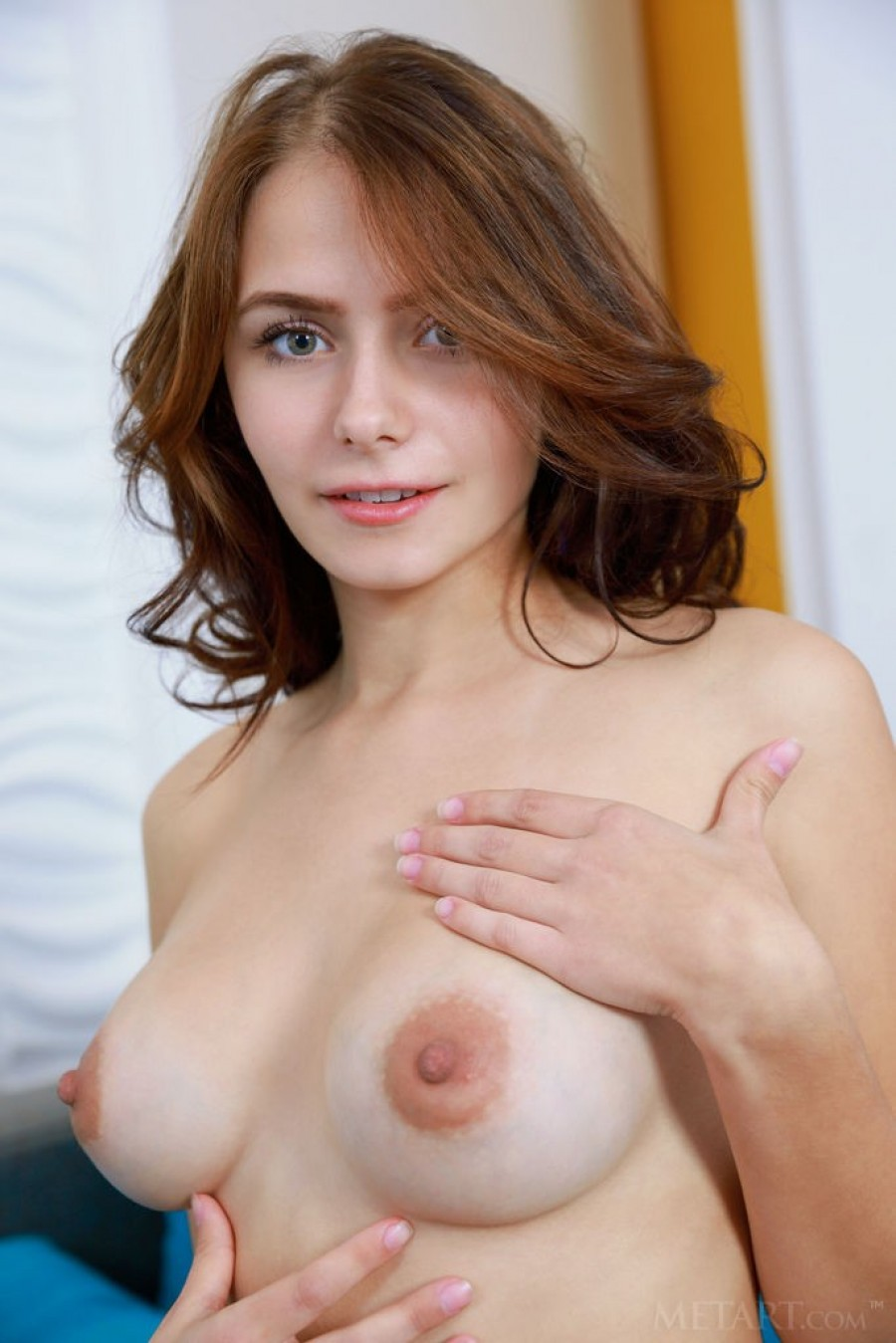 Juicy tits and a gorgeous pussy