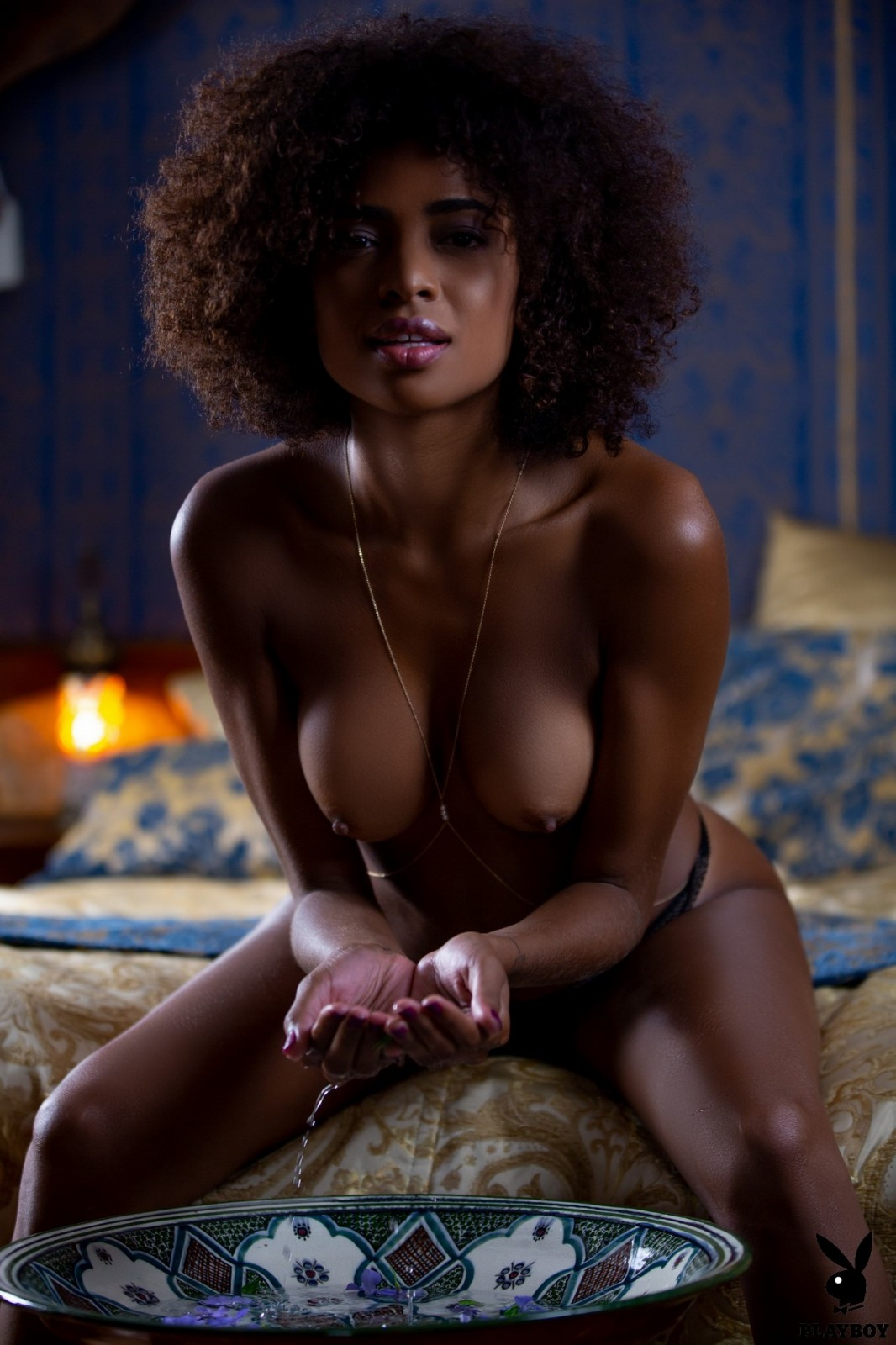 Busty black models
