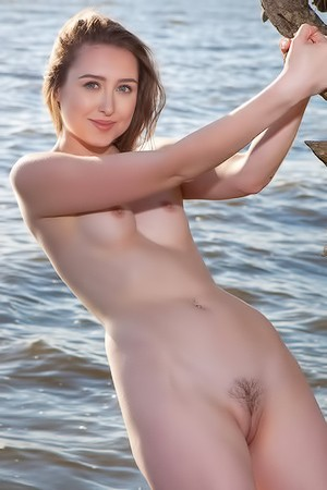 Ginger Frost Smiling And Posing Nude